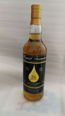 Littlemill 1988 26 years old (Liquid Treasures)