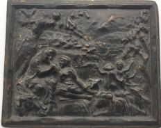 Bronze plaque - Europe - early 18th century