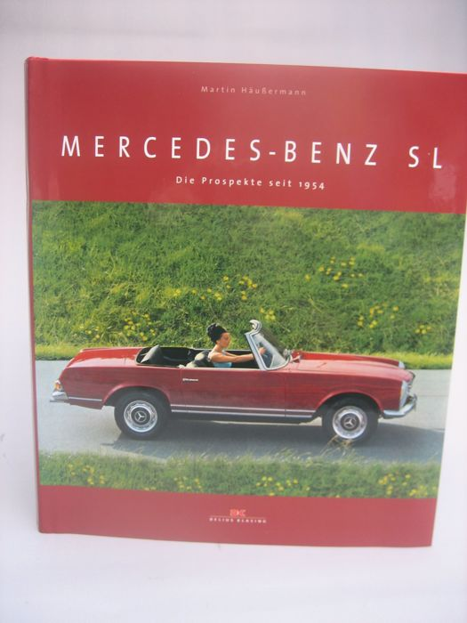 Mercedes Benz SL - brochures