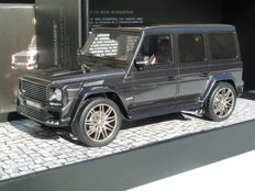 Minichamps - Scale 1/18 - Brabus Mercedes Benz B63 G V12 800 Widestar G-Class 2010 - Grey
