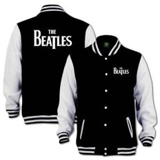 "The Beatles Varsity Jacket Depicting The Classic ""Drop T Logo""  -- Still Sealed !!"