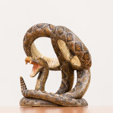Detailed Boa Constrictor made of polystone