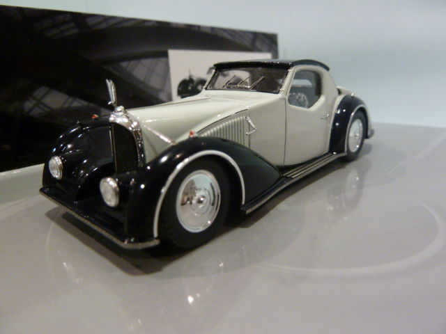 Minichamps - Scale 1/43 - Voisin C27 Aerosport Coupe 1934 - White with Blue