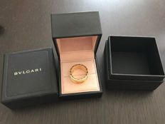 Bulgari BZero 1 ring with 4 bands - 18 kt yellow gold - size 66