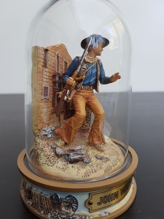 John Wayne Hand Painted Sculpture Limited Edition