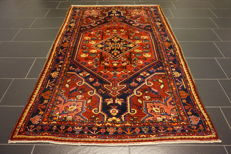 Unique Persian carpet Malayer Mahal excellent wool natural dyes made in Iran 140 x 230cm
