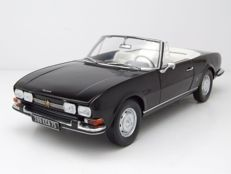Norev - Scale 1/18 - Peugeot 504 Convertible - Black