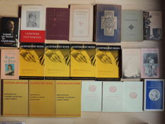 Lodewijk van Deyssel; Lot with 23 books about his works - 1908 / 2003