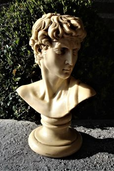 Bust Michel Angelo - second half of 20th century - Italy