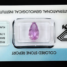 Kunzite - 3.79 ct NO RESERVE PRICE