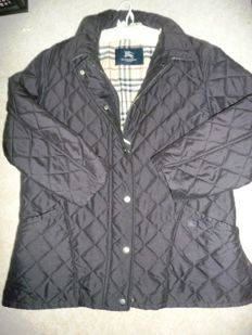 Burberry - classic timeless  elegant between-seasons quilted jacket - TOP condition