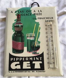 Glacoid thermometer 'PIPPERMINT GET', 50s