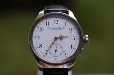 IWC Schaffhausen cal 53 - marriage wristwatch - 1900