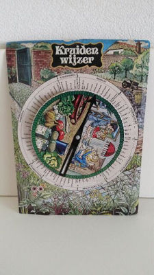Colourful old herb guide (tin)