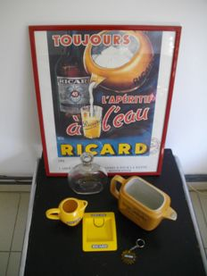 Lot of RICARD objects
