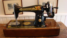 Singer sewing machine, late 20th century