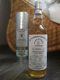 Imperial 1995 Signatory Vintage - Cask 50265 and 50266