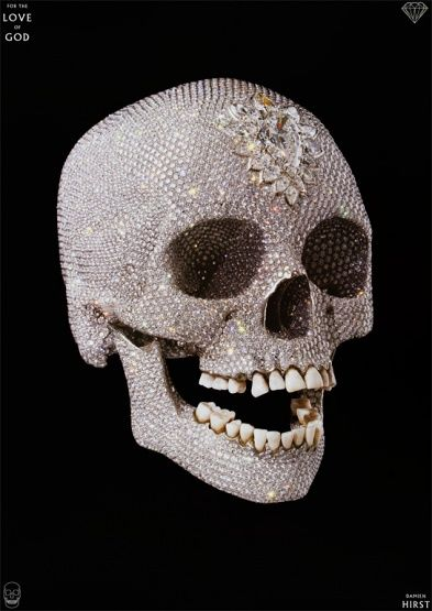 Damien Hirst - For the Love of God - 2007