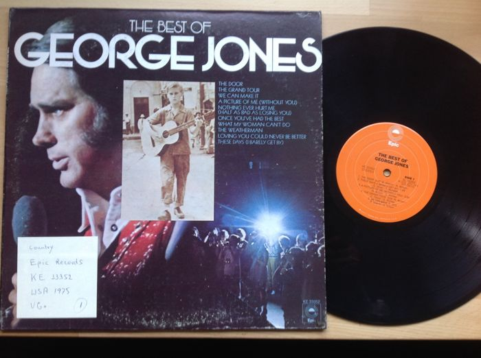 George Jones...13 albums...one is a 10 inch record...one is a 2recordset.