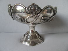 Silver plated dish/table piece, France, 20th century