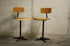 Manufacturer unknown – Pair of industrial chairs