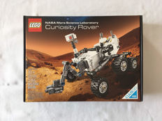 Ideas / Cuusoo - 21104 - NASA Mars Science Laboratory Curiosity Rover