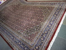 INDIAN HERATI, hand-knotted, good condition, 350x250, with certificate