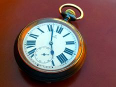 Omega - JUMBO RAILWAYS pocket watch - Heren - 1850-1900
