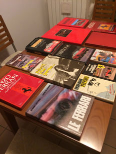 Lot of Ferrari car books