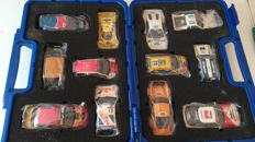 Scalextric - Scale 1/32 - Lot with 12 models: Citroen, Ford, Lancia, Toyota. MG, Ferrari & Subaru - Limited Edition 3000