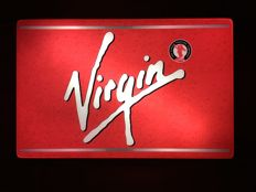 Lit sign - VIRGIN COLA - Very Rare