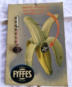 "Glacoid thermometer ""Fyffes"" (bananas), 1950"