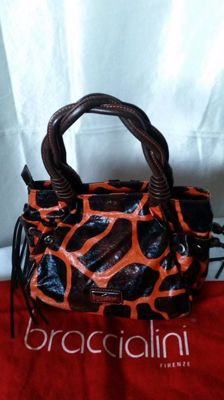 Braccialini - 'Tua' leather handbag **No reserve price**