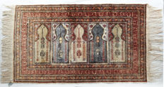 Authentic Antique Anatolian Keyseri Saph ca:102x60cm