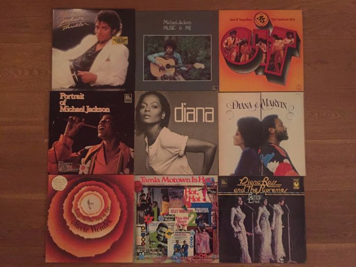 lot of 15 Tamla Mowtown and the sound of Philidelpia  albums (17 lp's)
