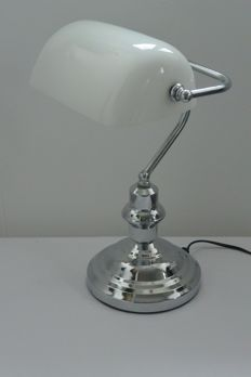 Desk Lamp Eglo Banker Chrome