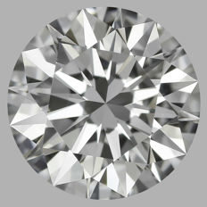 0.70ct Round Brilliant Diamond D IF  IGI  - SEALED - Serial# 634