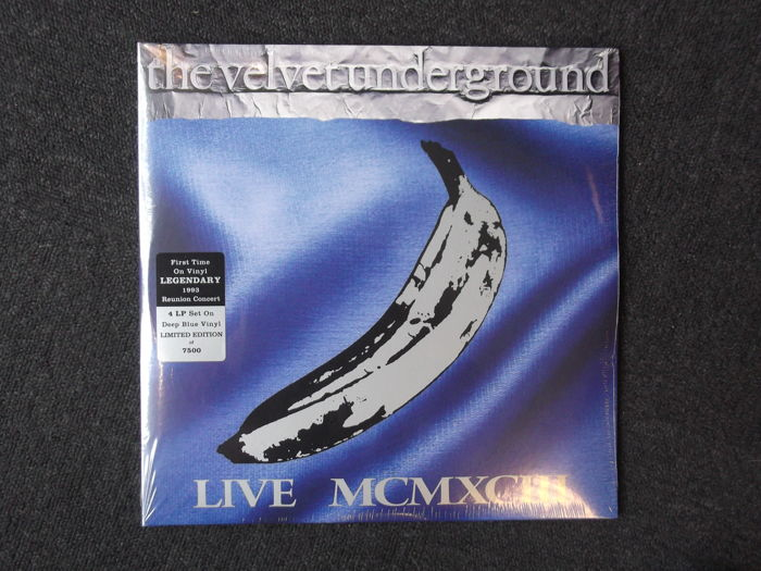 The Velvet Underground Live Mcmxciii Limited 4 Lp Set