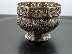 Djokja silver dish - Indonesia - 1st half of the 20th century