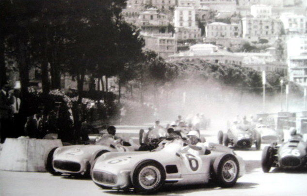 Decorative object - Start Monaco Grand Prix 1955 - Mercedes-Benz W196  - 1955 (1 items)