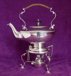 Very beautiful heavily silver plated kettle