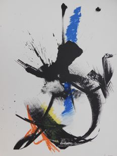 Jean Miotte - Composition Abstraite III