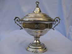 Sugar bowl in silver 800 - Italy - Florence - 1971