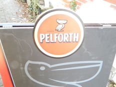 French advertising sign for Pelforth, late 20th century