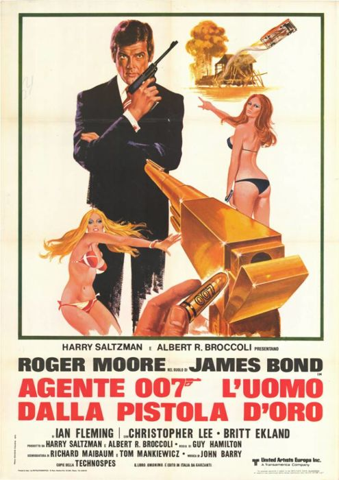 Anonymous - 007 The Man With The Golden Gun - 1974