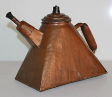 Red copper kettle beautiful design