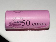 "Monaco - 2 Euro 2013 ""20-year membership of the United Nations"" (25 pieces), in view roll."