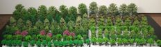 Scenery N - Lot with 180 trees / model making trees