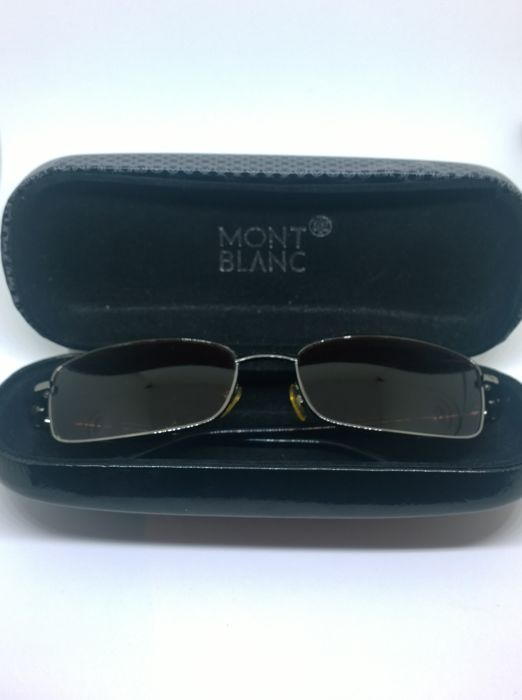Mont Blanc - Brown Men's Sunglasses