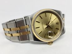 Rolex Two Tones Oyster Quartz Datejust 36 x 42 mm 17013
